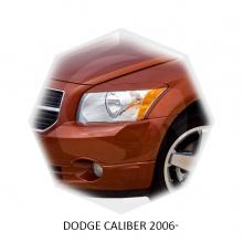 НАКЛАДКИ НА ПЕРЕДНИЕ ФАРЫ DODGE CALIBER (2006-2012)