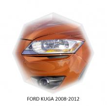 НАКЛАДКИ НА ПЕРЕДНИЕ ФАРЫ FORD KUGA (2008-2012)