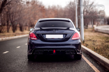 10261 Верхний спойлер Renegade на крышку багажника для Mercedes C-Class W205