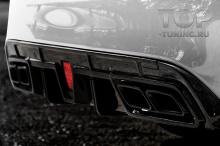 10264 Диффузор Renegade для заднего бампера Mercedes C-Class W205