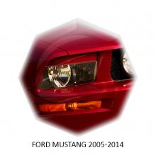 НАКЛАДКИ НА ПЕРЕДНИЕ ФАРЫ FORD MUSTANG (2004-2009)
