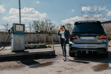 10300 Спойлер верхний Renegade для Mercedes GL X166