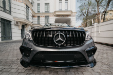 10306 Юбка Renegade на передний бампер для Mercedes GLS X166