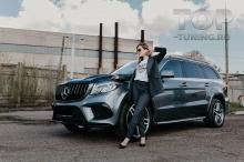 10307 Накладки Renegade на передний бампер для Mercedes GLS X166