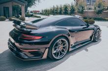 10349 Диффузор заднего бампера Venom для Porsche 911 (991)