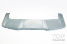 Тюнинг БМВ Х5 2018 2019 2020 - верхний спойлер на крышку багажника