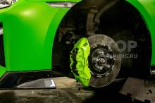 Качественное окрашивание тормозной системы Nissan GTR