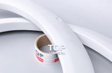 11 Накладки на передние арки - расширители Warior на Hyundai Tiburon Coupe GK