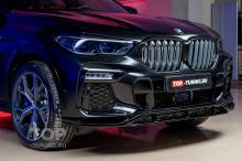 Замена решетки радиатора для BMW X6 - работы Топ Тюнинг Москва