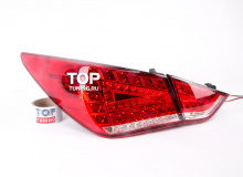 Светодиодные задние фонари - Тюнинг Hyundai Sonata YF / 6.
