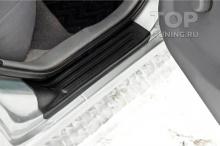 11533 Накладки Bastion на внутренние пороги Nissan Almera / Almera Classic
