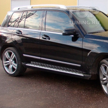 11685 Пороги-ступени OEM Style для Mercedes-Benz GLK X204