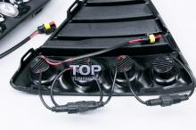 1169 Дневные ходовые огни Quattro на Ford Focus 3