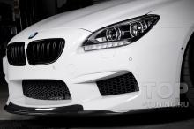 Тюнинг БМВ 6 серии f06, f12, f13. Черные ноздри в стиле М6 для ф06 / ф12 / ф13