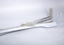1224 Накладки на пороги - обвес DAMD на Mazda 6 GH