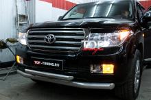 1246 Передние противотуманные фары с линзами на Toyota Land Cruiser 200