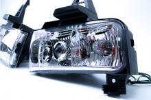 Противотуманные фары с линзами - Тюнинг Тойота Ленд Крузер 200 (2007-2012)