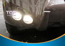 Передние светодиодные противотуманные фары для Toyota - современное решение дополнительной светодиодной оптики.