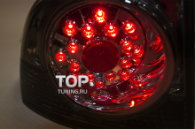 Диодные, задние фонари Eagle Eyes - FX SMOKED - Тюнинг оптики Honda Civic 4D 8 (FD)