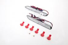 Светодиодные вставки в задний бампер - Модель White - Тюнинг Тойота