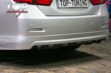 1293 Светодиодные вставки в задний бампер White на Toyota