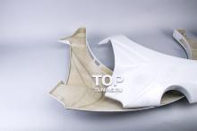 13 Накладки на задние крылья - расширители Warior на Hyundai Tiburon Coupe GK