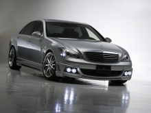 Wald хорошо поработал над изменением переднего бампера Mercedes W221.
