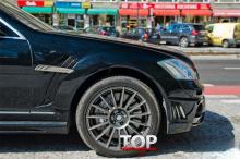 1347 Пороги - обвес WALD Black Bison на Mercedes S-Class W221