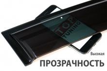 Оригинальные дефлекторы на окна Well Visors Premium (пр-во Тайвань) - Тюнинг Хендэ АйИкс 35