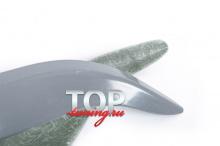 ТЮНИНГ ТОЙОТА ЛЕНД КРУЗЕР ПРАДО 150 РЕСНИЧКИ JAOS СТЕКЛОПЛАСТИК / ПАРА / ПОД ОКРАСКУ