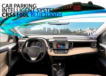 Универсальная парковочная система Car System Refine, с беспроводным BLUETOOTH индикатором расстояния Пирамидка, 4 парктроника черного или серого цвета.