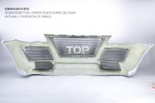 Передний бампер - Обвес ТИТАН - Тюнинг Фольксваген Туарег 1 / Рестайлинг 2007 - 2010