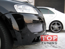 Передний бампер на VW Touareg от IKKI.(Рестайлинг)