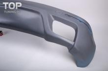 Накладка заднего бампера - Обвес IKKI (Titan) - Тюнинг VW Touareg 1 (Рестайлинг)