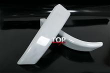 1602 Накладки на задний бампер Bliss Razor на Hyundai Santa Fe 2 (CN)