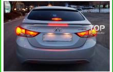 Лип-сопйлер на крышку багажника - Модель Flex - Тюнинг Хендай Элантра 5 (Аванте МД)
