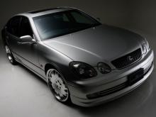 Юбка переднего бампера - Обвес WALD - Lexus GS 300 (второго поколения) / Toyota Aristo 2.