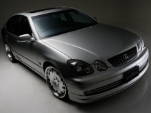 Пороги - Обвес WALD - Lexus GS 300 (второго поколения) / Toyota Aristo 2.