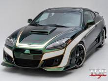 18 Накладки на пороги - Обвес Tomato на Hyundai Tiburon Coupe GK