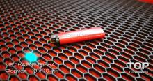 Пластиковая сетка в бампер, решетку радиатора или воздухозаборник ЛАМБО Тип 1 - Мелкая ячейка