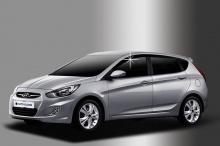 Дефлекторы на боковые окна Hyundai Solaris (Hatchback)