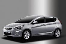 Дефлекторы на боковые окна Hyundai Solaris (Солярис Хетчбек)