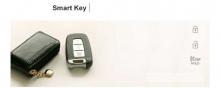 Кожаный чехол для смарт-ключа (3 кнопки) , тюнинг Hyundai Solaris