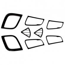 Тюнинг интерьера Хендай Солярис - Комплект накладок на элементы салона.