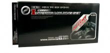 Накладки на дефлекторы воздуховодов в салон Safe K-825 - Хром. Комплект 8 шт.