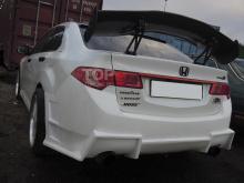 Тюнинг Хонда Аккорд 8 (рестайлинг, дорестайлинг) - Задний бампер Exclusive.