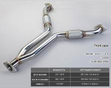 Двойная выхлопная система Инфинити G37 Coupe - Тюнинг JUN BL - Комплект.