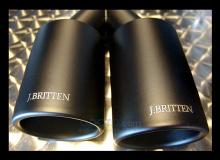 Насадка на глушитель с керамическим покрытием - тюнинг J.BRITTEN - Цена 7600 руб. за штуку.
