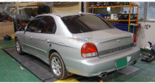 Тюнинг выхлопной системы Hyundai Sonata EF от Puzzle