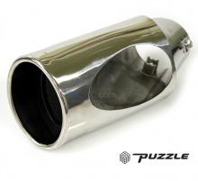 Насадка на глушитель Puzzle PZ-1013 Одноствольная. Полированная нержавеющая сталь. Цена 1300 руб. - за штуку.
